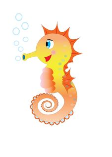 Free Seahorse Royalty Free Stock Images - 21734919
