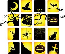 Free Halloween Icon Stock Images - 21737224