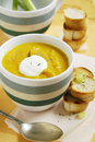 Free Carrot Soup With Thyme Royalty Free Stock Photography - 21747027