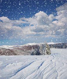 Free Winter Landscape Stock Photography - 21740862