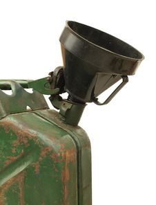 Free Old Rusty Gasoline Jerry Can Stock Photos - 21747593