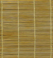 Bamboo Placemat Texture Stock Photography