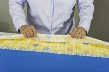 Free Tubular Pillow Case. Stock Images - 21747854