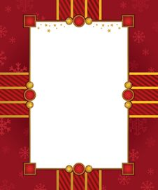 Free Christmas Frame Royalty Free Stock Photography - 21747887