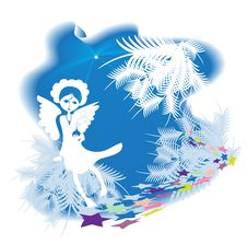 Christmas Angel Stock Photography