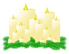 Free Candles Stock Image - 21749571