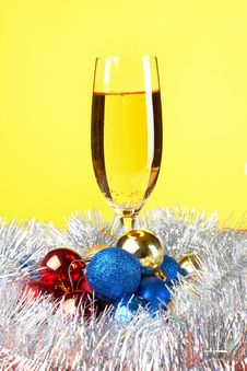 Free Christmas And New Year Decoration Stock Photos - 21749673