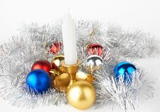 Free New Year Decoration Royalty Free Stock Photo - 21749735