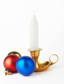 Free Balls And Candle Stock Photos - 21749743