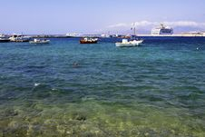 Free Mykonos, Greece Harbor Stock Image - 21753161
