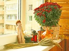 Free Autumn Registration Of Balcony Stock Photography - 21754212