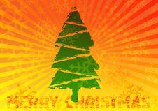 Retro Christmas  Background Royalty Free Stock Photos