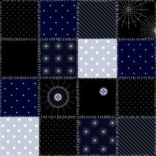 Free Snowflakes Patchwork Royalty Free Stock Images - 21754629