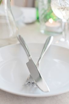 Free Fork And Knife Stock Photography - 21755972