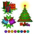 Free Christmas Things Royalty Free Stock Image - 21769426