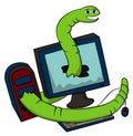 Free Web Worm Stock Image - 21769951