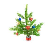 Free Christmas Tree Royalty Free Stock Photos - 21760238