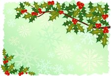 Free Traditional And Artistic Christmas Frame Royalty Free Stock Photography - 21762337
