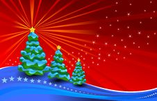 Free Christmas And New Year Background Stock Images - 21762434