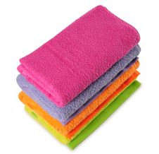 Free Bath Towels. Isolated Royalty Free Stock Photos - 21764058