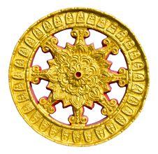 Free Thammachak Wheel. Stock Photos - 21767443