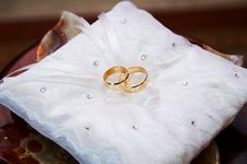 Free Gold Wedding Rings Stock Image - 21768121