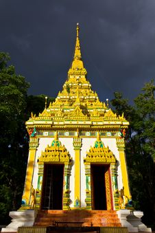 Free Golden Pagoda. Stock Images - 21768404
