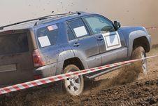Free Off Road Auto Rally Raid 4X4 Sprint Race. Royalty Free Stock Image - 21776806