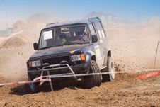 Free Off Road Auto Rally Raid 4X4 Sprint Race. Stock Photo - 21776850