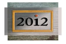 Free 2012 In Frame Royalty Free Stock Photography - 21777157