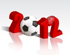 Free Euro Cup 2012 Royalty Free Stock Images - 21777319