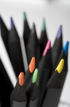 Free Pencils Royalty Free Stock Photos - 21777988