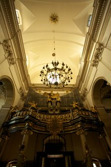 Free Cracow Old Town Church Royalty Free Stock Photo - 21779785