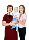 Free Mother And Grandmother With Her Grandson Stock Photography - 21787532