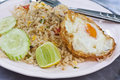 Free Fried Rice With Fried Eeg Royalty Free Stock Images - 21788119