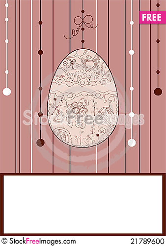 Free Doodle Drawing Easter Stock Photo - 21789600