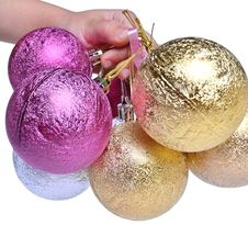 Free Christmas Tree Ornaments Stock Photography - 21781222