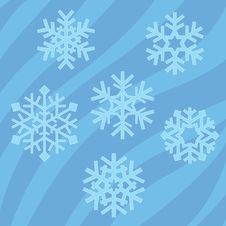 Free Snowflakes Collection Royalty Free Stock Photo - 21781335
