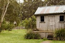 Free Vintage Australian Cabin Stock Photography - 21783722