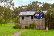 Free Vintage Australian Cabin Stock Photo - 21783900