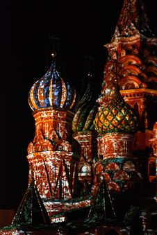 Free St. Basil Cathedral Stock Photo - 21785320