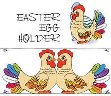 Free Egg Holder Home Made Stock Image - 21786981