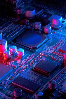 Free Microelectronics Stock Photo - 21789200