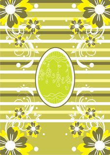 Free Green Easter Background Stock Photo - 21789620