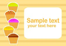 Free Background With Cakes Stock Images - 21790964