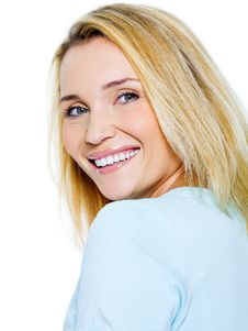 Free Beautiful Happy Smiling Woman Stock Image - 21791521