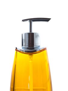 Colorful Soap Dispenser Royalty Free Stock Photography