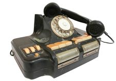 Free Old Phone With Disc Dials Stock Photo - 21795560