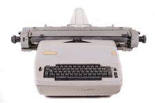 Free Old Vintage Typewriter Royalty Free Stock Photography - 21796417