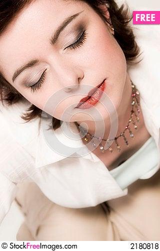Free Sleeping Woman Royalty Free Stock Photos - 2180818